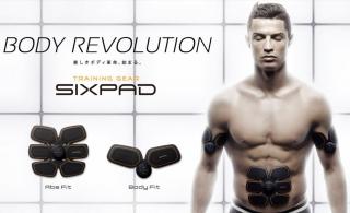 SIXPAD Body Fit(シックスパッド ウエスト・腕・脚用)